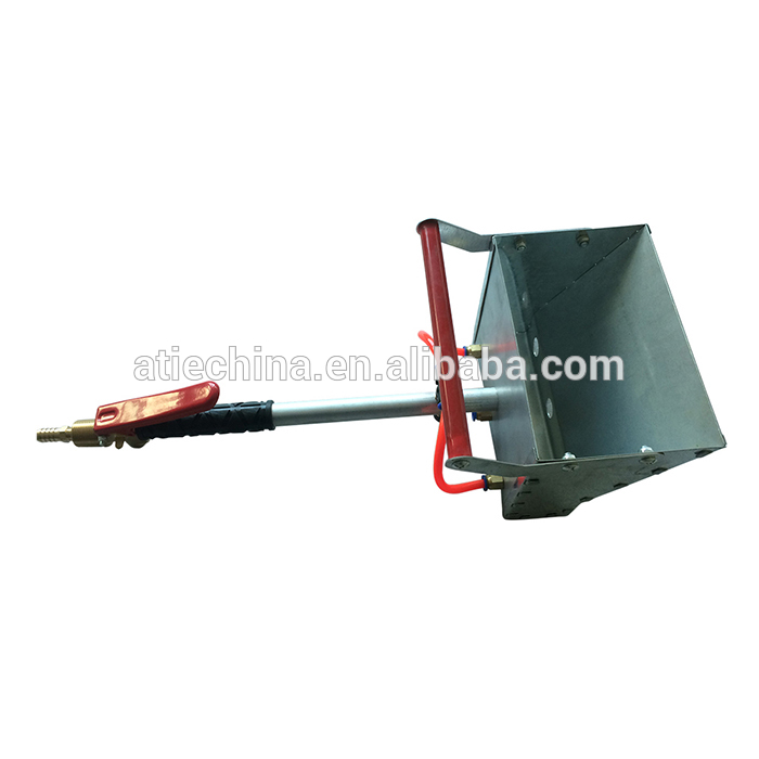 Stucco sprayer hopper gun high-efficiency, labor saving ...